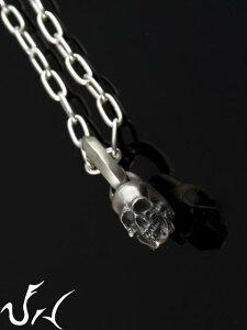 JIN[スカル ペンダント](シルバーアクセサリー/シルバーアクセ/シルバー/シルバー925/Silver92...
