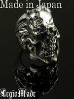 LegioMade【Shade】(シルバーアクセサリー/シルバーアクセ/シルバー/シルバー925/Silver925/銀/レギオメイド/リング/指輪/メンズ/レディース/ユニセックス/スカル/骸骨/スカルリング/髑髏/)