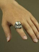 LegioMade[スカル](シルバーアクセサリー/シルバーアクセ/シルバー/シルバー925/Silver925/銀/レギオメイド/リング/指輪/メンズ/スカルリング)