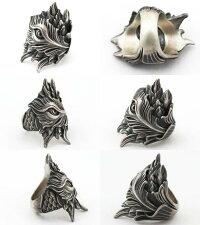 LegioMade[ブロッサム](シルバーアクセサリー/シルバーアクセ/シルバー/シルバー925/Silver925/銀/レギオメイド/リング/指輪/メンズ/パーン)