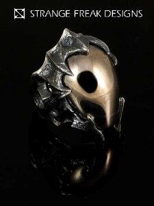 STRANGE FREAK DESIGNS【モルフィア リング】(シルバーアクセサリー/シルバーアクセ/シルバー/...