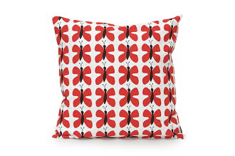 Cushion 45 x 45 cm TEXTIL ARVIDSSONS アルビッドソンズテキ style Fjaril Mini mini Butterfly