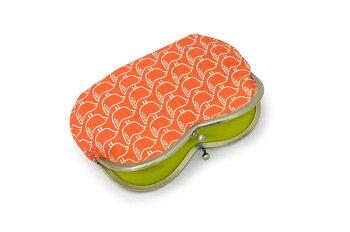 【ルネ・デュー】ハート型がま口ポーチBritaSwedenブリタスウェーデンselmaセルマORオレンジコスメポーチに♪キュートながまぐちポーチ!