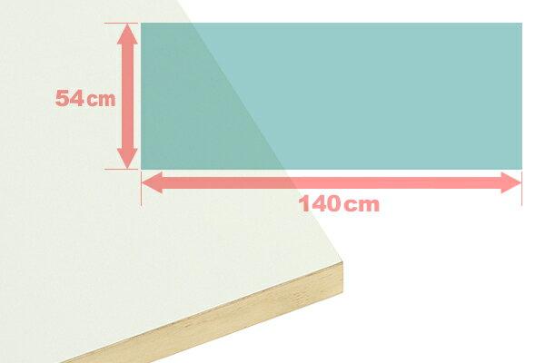 【手作り用】 ヌードパネル 140×54×3cm ウッドパネル