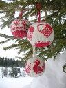 北欧雑貨 全3種♪ 手編みで作っているニットのオーナメント♪Arne & Carlos アルネ&カルロス ...