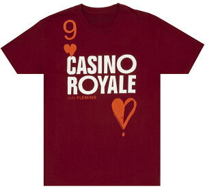 [Out of Print] Ian Fleming / Casino Royale Tee (Cardinal Red)
