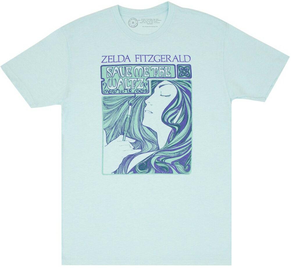 トップス, Tシャツ・カットソー Out of Print Zelda Sayre Fitzgerald Save Me the Waltz Tee (Ice Blue)