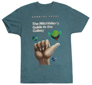 [Out of Print] Douglas Adams / The Hitchhiker's Guide to the Galaxy Tee (Indigo)