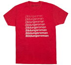 [Out of Print] Literary Terms / Bildungsroman Tee (Red)