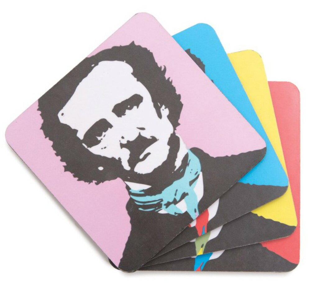 [Out of Print] Edgar Allan Poe / Pop Poe Coaster Set画像