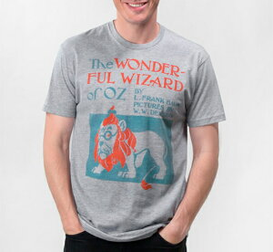 [Out of Print] L. Frank Baum / The Wonderful Wizard of Oz Tee (Heather Grey)