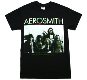 Aerosmith / America's Greatest Rock and Roll Band Tee (Black)