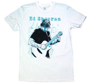 Ed Sheeran / Portrait Tee (White)
