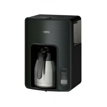 《THERMOS(サーモス)》真空断熱ポット コーヒーメーカー ECH-1001 BK ブラック