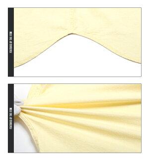 綿麻・シャツ・無地・7分袖・七分袖・ストレッチ・メンズ・BITTER・サーフ系・アメカジ・夏