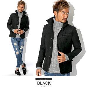 BITTER・ビター系・イタリアンカラー・ジャケット・コート・メンズ・秋・冬・ファッション