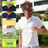ヘンリーネック・Tシャツ・メンズ・BITTER・夏