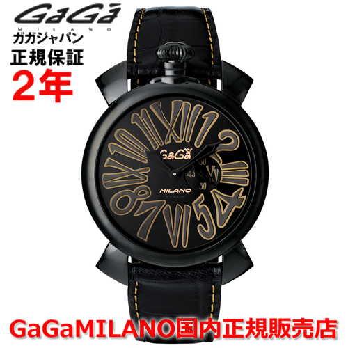GaGaMILANO(ガガミラノ)『Slim46mmブラックPVD5086.1(gaga-5086-1)』
