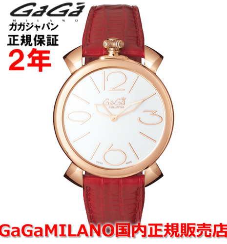 GaGa MILANO(ガガミラノ)『Manuale Thin 46mm ゴールドプレート 5091.01RD(gaga-5091-1rd)』