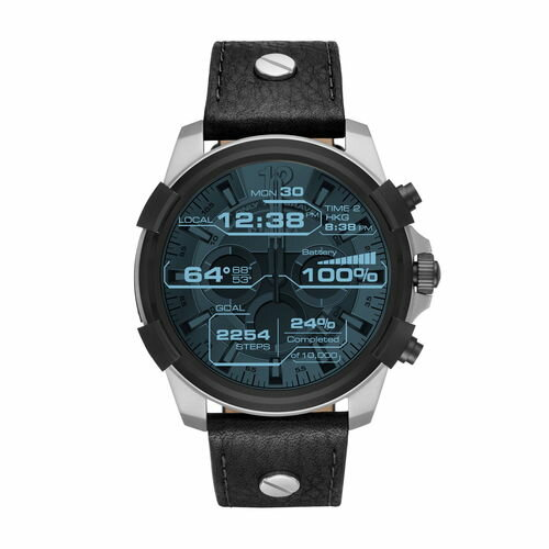 【国内正規品】Android/iOS対応DIESEL/ディーゼル SMART WATCHES/スマートウォッチ 腕時計 メンズ DZT2001