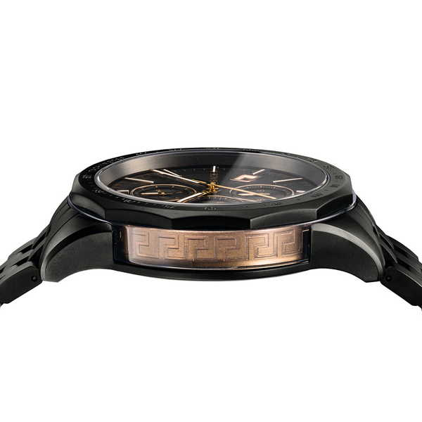 【国内正規品】※国内正規品のみオーナー登録して頂く事により4年保証となります。 VERSACE ヴェルサーチェ メンズ 腕時計 グレイズ GLAZE VEBJ00618