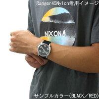 【国内正規品】☆レビューをご記入いただいたお客様にNIXONオリジナルノベルティをプレゼント!!☆NIXONニクソン腕時計メンズRanger45Nylon/レンジャー45ナイロンNA5142072-00【P08Apr16】
