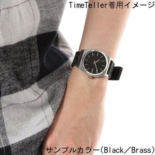 レビュー記入でNIXONノベルティープレゼント!!【国内正規品】NIXON ニクソン 腕時計 メンズ レディース  Time Teller 37mm/タイムテラー  NA0452001-00