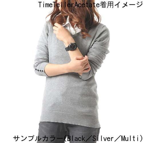 【楽天ランキング3位獲得!!】【国内正規品】【日本限定モデル】NIXON ニクソン 腕時計 メンズ レディース TimeTellerAcetate/タイムテラーアセテートNA3272514-00 【DRP】