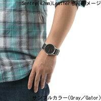 【国内正規品】☆レビューをご記入いただいたお客様にNIXONオリジナルノベルティをプレゼント!!☆NIXONニクソン腕時計メンズレディースSentryLeather42mm/セントリーレザー42mmNA105513-00【10P23Apr16】