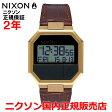 【国内正規品】☆レビューをご記入いただいたお客様にNIXONオリジナルノベルティをプレゼント!!☆ NIXON ニクソン 腕時計 メンズ レディース Re-Run Leather/リ-ランレザー NA944849-00 【10P03Dec16】