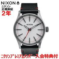 【国内正規品】☆レビューをご記入いただいたお客様にNIXONオリジナルノベルティをプレゼント!!☆NIXONニクソン腕時計メンズレディースSentry38Leather38mm/セントリー38レザー38mmNA377486-00【10P27May16】