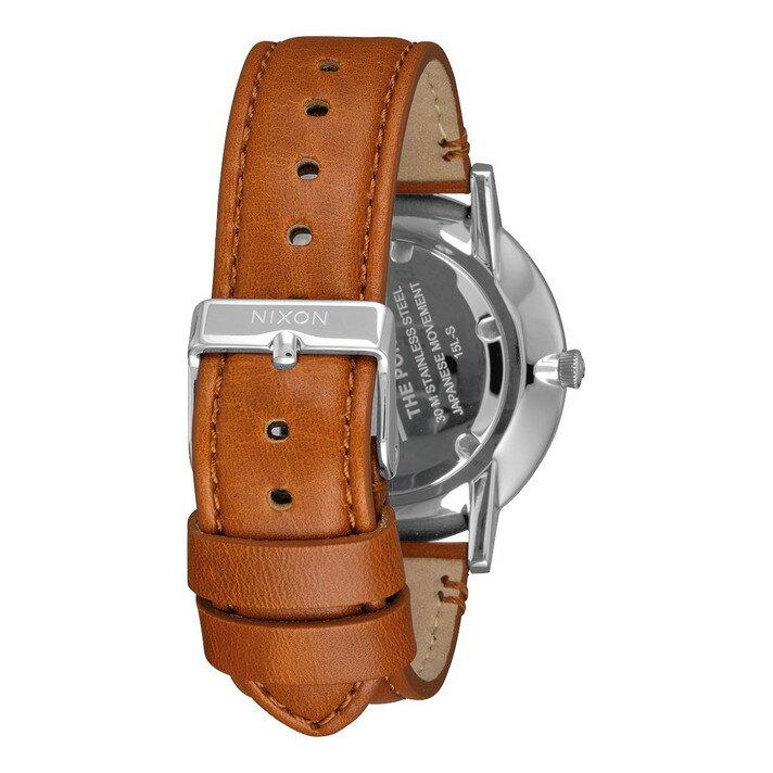 レビュー記入でNIXONノベルティープレゼント!!【国内正規品】NIXON ニクソン 腕時計 メンズ レディース Porter Leather 40mm/ポーターレザー40mm NA10582694-00