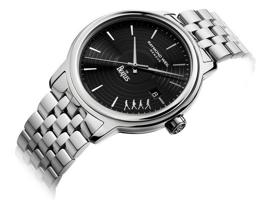 【ビートルズ限定モデル】【国内正規品】RAYMOND WEIL レイモンドウェイル マエストロ ビートルズ・リミテッドエディション MAESTRO BEATLES メンズ 腕時計 自動巻き 2237-ST-BEAT2