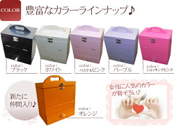 人気のメイクボックス三面鏡付きコスメボックスメークボックス化粧ボックス収納ホワイトピンク姫系卓上