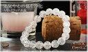 パワーストーン 天然石 ブレスレット クラック 水晶(クリスタル) パワー...