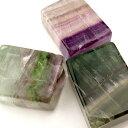 フローライト 原石 置物 天然石 パワーストーン ミックスカラー フローライト 幸運お守り 蛍石 置き物 浄化の商品画像