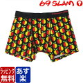 69SLAMロックスラム/COTTON BOXER PSYCHE FLOWER【hade】【cawaii】【chemi】^^