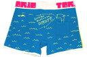 【5/28まで送料無料】TORIO/SENBOUKYOU(イエロー×ブルー) トリオ ボクサーパンツ メンズ【正規品】【ローライズ】【楽ギフ_包装選択】【あす楽】誕生日 プレゼント ギフト ラッピング 無料^^彼氏 父 ロングヒット