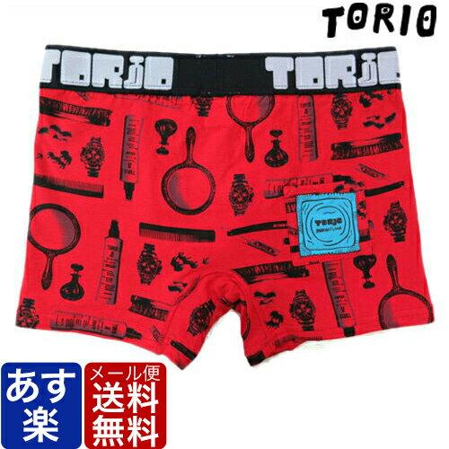 送料無料 TORIO トリオ ボクサーパンツ マナー レッド 前開き メンズ ブランド 正規品 下着 パンツ インナー ローライズ 誕生日 プレゼント ギフト ラッピング 無料 ^^ 父の日ギフト ペアギフト ll 彼氏 父 男性 旦那 大人