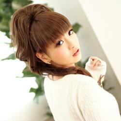 ぱっつんシャギー前髪ウィッグポイントウィッグ[wgt011]