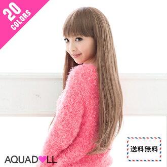 Wigs Extensions AQUADOLL | Beauty Long Straight wig [wg002]