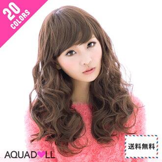 Wigs Extensions AQUADOLL | Natural Medium Wave wig [wg004]