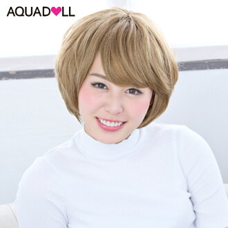 Wigs Extensions AQUADOLL | Girlish wave short wig [wg007]