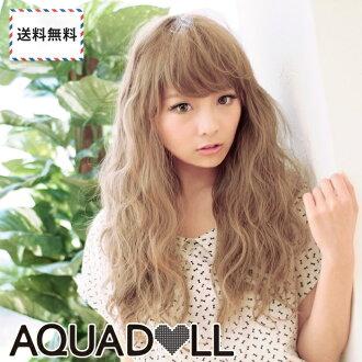 Wigs Extensions AQUADOLL | Loose wave Nudie Long Wave wig [wg072]