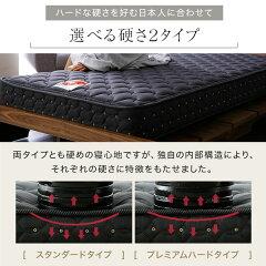 【シングル】フランスベッドマットレスFranceBedJ-rest高密度連続スプリングデュラテクノスプリング厚み19cm国産日本製レギュラータイププレミアムハードタイプ衛生マットレスみ