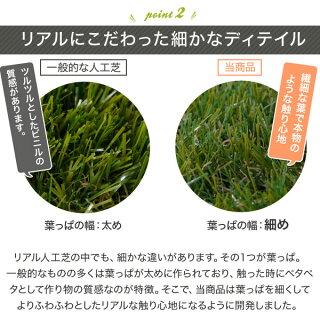 [人工芝]【うれしいU字ピン付!】ロールロールタイプ人工芝リアル人工芝人工芝生幅2m×長さ5mガーデンガーデニングベランダバルコニーテラス庭屋上緑化緑グリーン