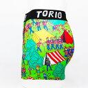 【TORIO】トーリー(新) / 2001001 トリオ 光る メンズ ボクサーパンツ【メール便選択で送料無料】【ハロウィン ギフト】 2
