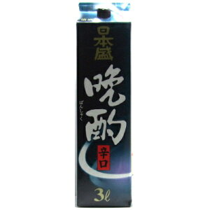 Nihonmori Supper Dry 3L Pack [Sake]