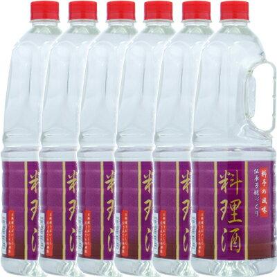 伝統芳醇づくり 料理酒ペット 1.8L×6本(1ケース)【2ケースまで1配送料】<料理酒(調理酒)>