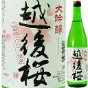 【大吟醸をカジュアルに楽しみたい方に】越後桜 大吟醸 720ml【清酒】<日本酒 ギフト プレゼント Gift 贈答品 内祝い お返し お酒>